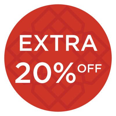 Extra 20% Off -