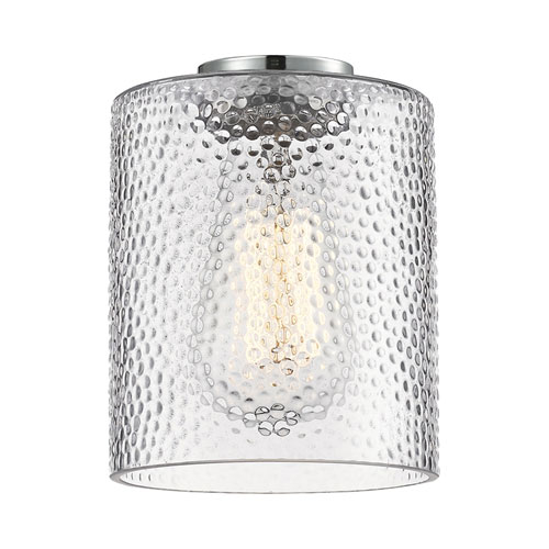 Clear Cobbleskill Drum Glass variant