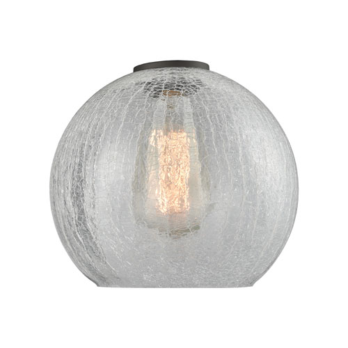 Clear Crackle Athens Sphere Glass variant