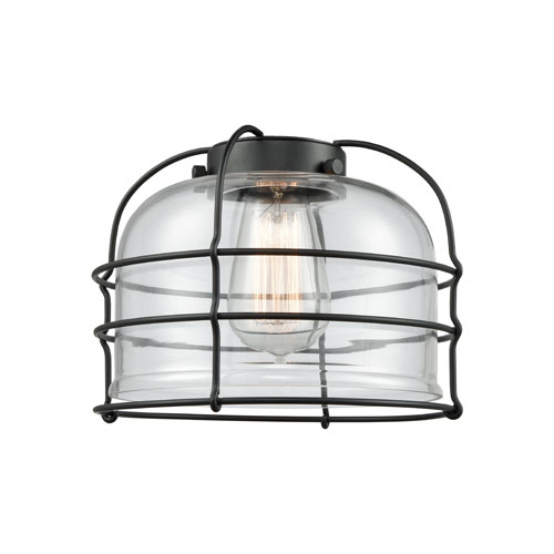 Clear Large Bell Glass With Cage variant