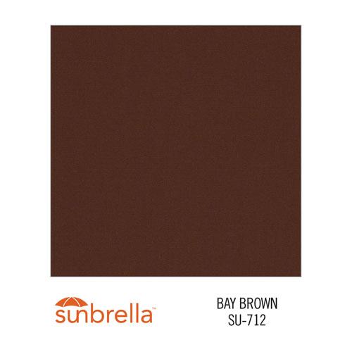 Sunbrella Bay Brown variant