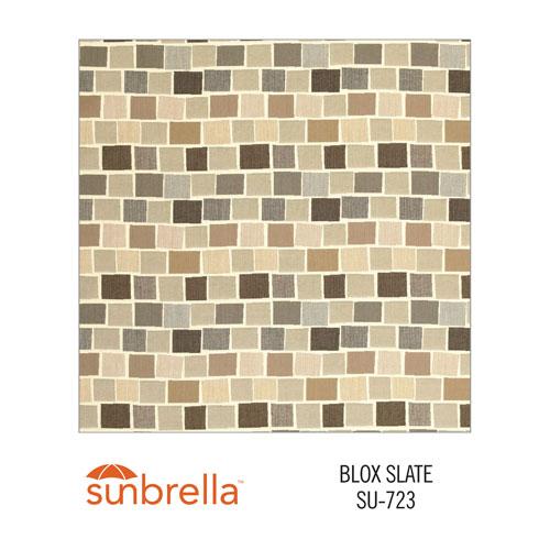 Sunbrella Blox Slate variant