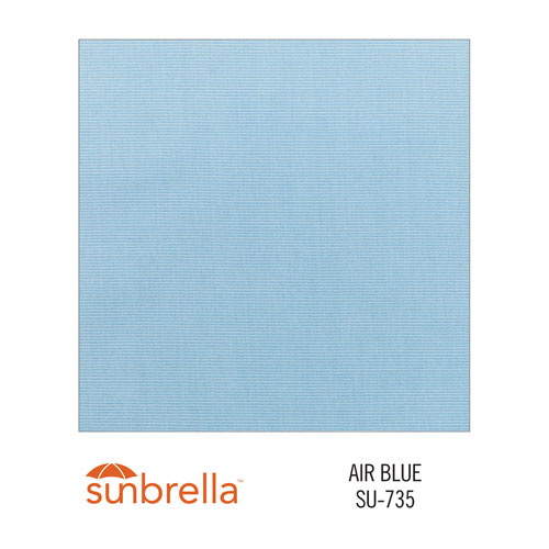 Sunbrella Air Blue variant