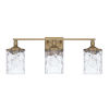 This item: HomePlace Colton Aged Brass 24-Inch Three-Light Bath Vanity