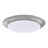 This item: HomePlace Brushed Nickel Eight-Inch LED Flushmount