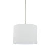 This item: HomePlace Brushed Nickel 13-Inch Two-Light Pendant