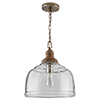 This item: Independent Grey Wash One-Light Pendant