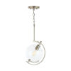 This item: Webster Antique Nickel One-Light Mini Pendant