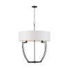 This item: Palmer Matte Black Six-Light Pendant