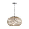 This item: Grey Wash and Antique Nickel One-Light Pendant