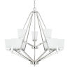 This item: HomePlace Baxley Polished Nickel 34-Inch Nine-Light Chandelier