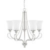This item: HomePlace Griffin Brushed Nickel 26-Inch Five-Light Chandelier