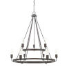 This item: HomePlace Tanner Bronze 31-Inch Nine-Light Chandelier