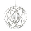 This item: Axis Brushed Nickel Six-Light Pendant