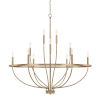 This item: HomePlace Greyson Aged Brass 40-Inch 12-Light Chandelier