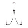 This item: Marlow Old Bronze Four-Light Chandelier