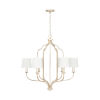 This item: Ophelia Winter Gold Six-Light Chandelier