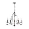 This item: HomePlace Cameron Bronze Five-Light Chandelier