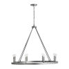This item: Ari Etched Nickel Eight-Light Chandelier