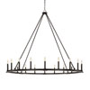 This item: Pearson Black Iron 20-Light Chandelier
