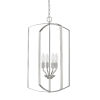 This item: HomePlace Brushed Nickel 15-Inch Four-Light Pendant