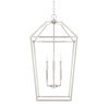 This item: HomePlace Brushed Nickel 17-Inch Six-Light Pendant