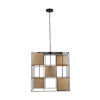 This item: Paxton Aged Brass and Black Five-Light Foyer Pendant