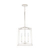 This item: Thea Polished Nickel Four-Light Foyer Pendant