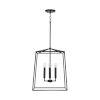 This item: Thea Matte Black 20-Inch Four-Light Foyer Pendant