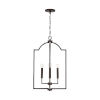 This item: HomePlace Carter Bronze Four-Light Foyer Pendant
