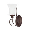 This item: HomePlace Griffin Bronze Six-Inch One-Light Wall Sconce