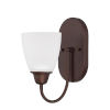 This item: HomePlace Trenton Bronze 10-Inch One-Light Wall Sconce