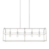 This item: HomePlace Brushed Nickel 46-Inch Five-Light Pendant