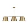 This item: Aged Brass Three-Light Island Pendant