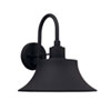 This item: Brock Black 13-Inch One-Light Outdoor Wall Lantern