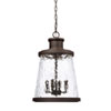 This item: Tory Oil Rubbed Bronze Four-Light Outdoor Hanging Lantern