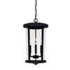 This item: Howell Black Four-Light Outdoor Hanging Lantern
