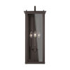 This item: Hunt Oiled Bronze 11-Inch Four-Light Outdoor Wall Lantern