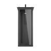 This item: Hunt Black 14-Inch One-Light Outdoor Wall Lantern