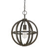 This item: Cole Brushed Espresso 12-Inch One-Light Pendant