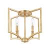 This item: Regan Capital Gold Four-Light Flush Mount