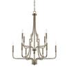 This item: Dawson Aged Brass 10-Light Chandelier