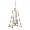 This item: Dawson Aged Brass 14-Inch Four-Light Pendant