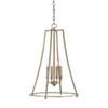 This item: Dawson Aged Brass 18-Inch Four-Light Pendant