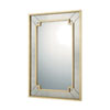This item: Mirrors Gold Leaf 29-Inch Rectangular Mirror