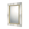 This item: Mirrors Gold Leaf 33-Inch Rectangular Mirror