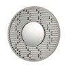 This item: Mirrors Antique Silver Round Mirror