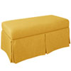 This item: Linen French Yellow 36-Inch Storage Bench