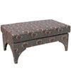 This item: Poppy Taupe 41-Inch Welted Pillowtop Bench
