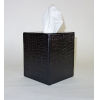 This item: Black Leather Tissue Box.